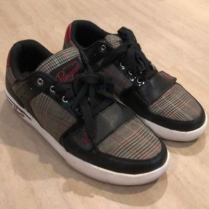 Penguin Houndstooth Plaid Sneakers - Size 11